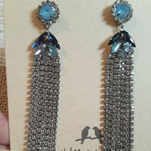 Chloe + Isabel Celeste rhinestone earrings